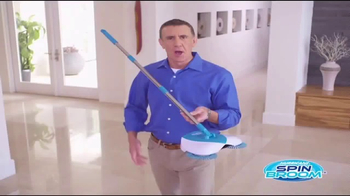 Hurricane Spin Broom TV Spot, 'Gobbles Up Everything' - 441 commercial airings