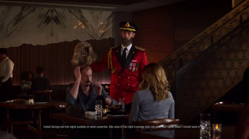 Hotels.com TV Spot, 'Captain Obvious on Online Dating' - Thumbnail 8