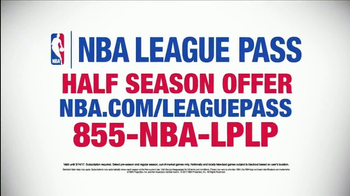 NBA League Pass TV Spot, 'Half Season Offer' - Thumbnail 6