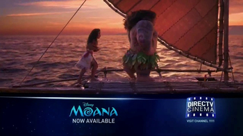 DIRECTV Cinema TV Spot, 'Moana'