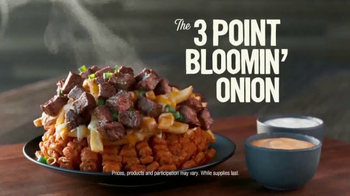 Outback Steakhouse 3-Point Bloomin' Onion TV Spot, 'March Madness'