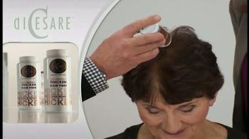 DiCesare Thicken TV Spot, 'Hair Builder' - Thumbnail 4