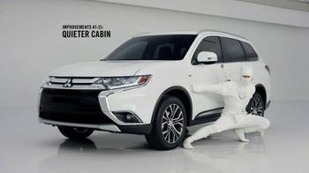 2016 Mitsubishi Outlander TV Spot, 'Quiet'