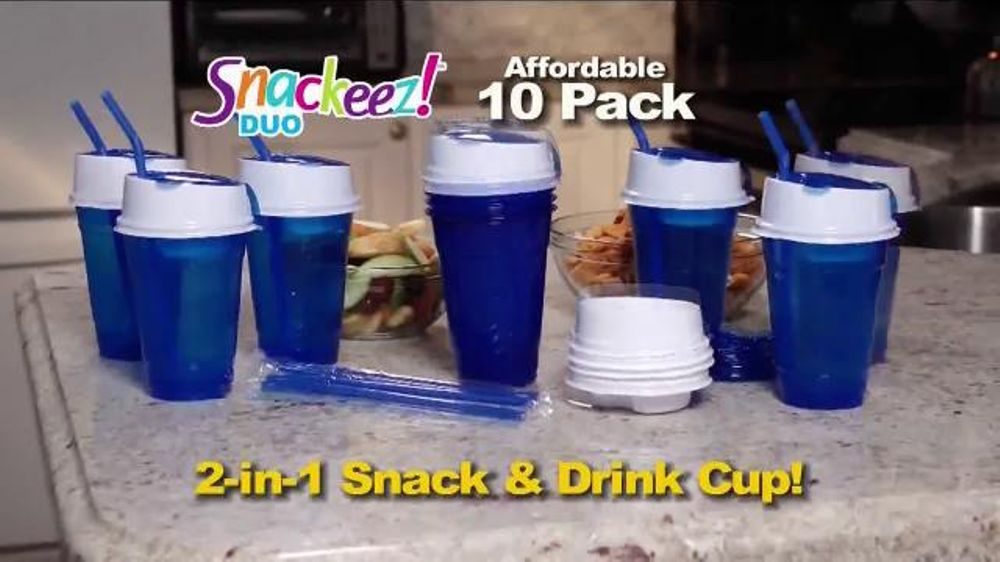 Snackeez Duo Tv Commercial Drink And Snack Ispot Tv