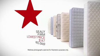 Macy's Labor Day Mattress Sale TV Spot, 'Low Prices for the Season' - Thumbnail 3