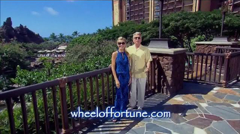 Disney Aulani TV Spot, 'Wheel of Fortune: Sea & Shore Week Sweepstakes'