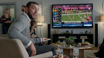 DIRECTV NFL Sunday Ticket TV Spot, 'Out of Control Beard Andrew Luck' - Thumbnail 7