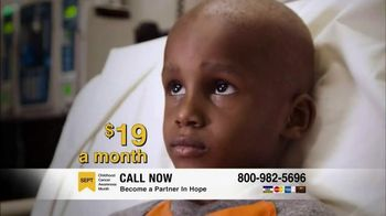 St. Jude Children's Research Hospital TV Spot, 'Fight to End Cancer'