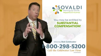 Goldwater Law Firm TV Spot, 'Sovaldi'