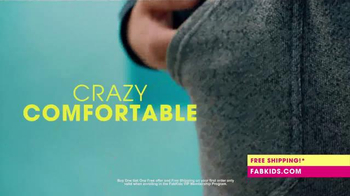 FabKids.com Buy 1, Get 1 Free TV Spot, 'A New Fashion Brand for Kids'