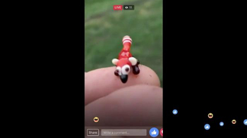 Facebook Live TV Spot, 'Miniature Animals'