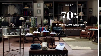 JoS. A. Bank Super Tuesday Sale TV Spot, 'Suits, Shirts & Sweaters'