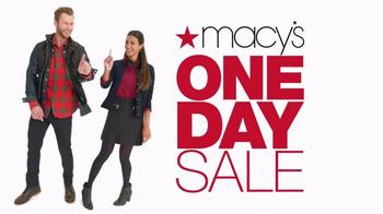 Macy's One Day Sale TV Spot, 'Earn Plenti Points'