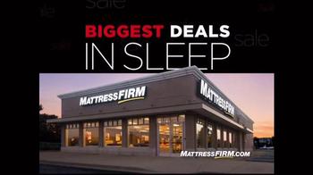 Mattress Firm Thanksavings Sale TV Spot, 'Biggest Deals in Sleep'