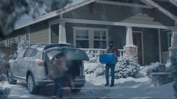 Toyota Toyotathon TV Spot, 'Home for Christmas: 2017 RAV4'