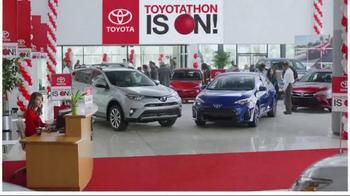 Toyota Toyotathon TV Spot, '2016 Highlander LE Plus'