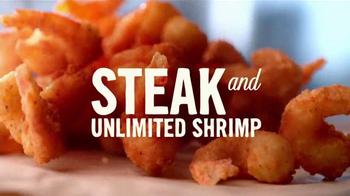 Outback Steakhouse Steak & Unlimited Shrimp TV Spot, 'Holidays'