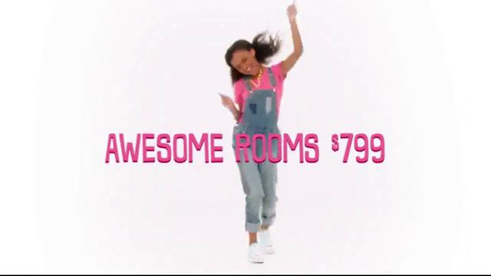 Rooms To Kids rooms to go kids & teens holiday sale tv commercial, 'kids