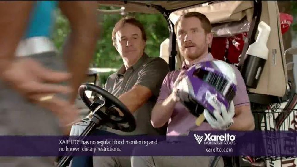 Xarelto TV Commercial, 'Game Plan' Feat. Chris Bosh