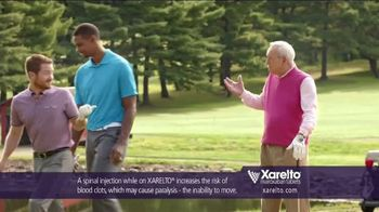 Xarelto TV Spot, 'Game Plan' Feat. Chris Bosh, Arnold Palmer, Brian Vickers - Thumbnail 7
