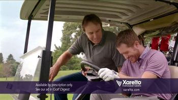 Xarelto TV Spot, 'Game Plan' Feat. Chris Bosh, Arnold Palmer, Brian Vickers - Thumbnail 9