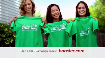 Booster TV Spot, 'Design Your Shirt'