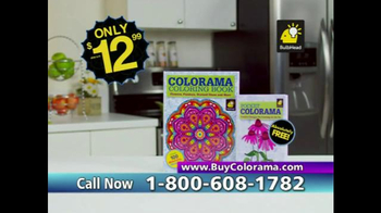 Colorama Books TV Spot, \'Relax and Create\'