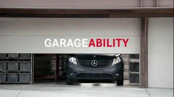 2016 Mercedes-Benz Metris TV Spot, 'Endless PossABILITIES'
