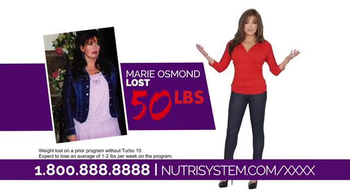 Nutrisystem Turbo 10 TV Spot, 'Sell It' Featuring Marie Osmond