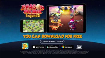 Dragon Mania Legends TV Spot, 'Explore the World of Dragons' - Thumbnail 10