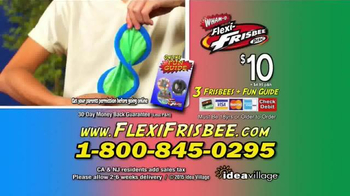 Flexi-Frisbee Disc TV Spot, 'Flying Discs' - Thumbnail 9