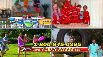 Flexi-Frisbee Disc TV Spot, 'Flying Discs' - Thumbnail 8