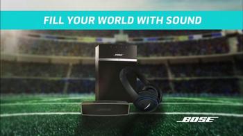 Bose TV Spot, 'NFL Loudest Stadiums'
