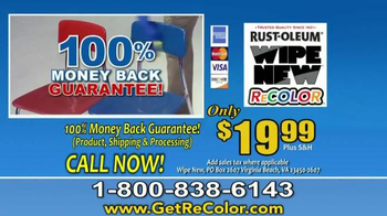 Wipe New Rust-Oleum ReCOLOR TV Spot, 'Stop Painting' - Thumbnail 9