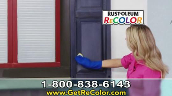 Wipe New Rust-Oleum ReCOLOR TV Spot, 'Stop Painting' - Thumbnail 6