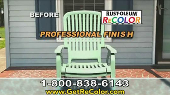 Wipe New Rust-Oleum ReCOLOR TV Spot, 'Stop Painting' - Thumbnail 7