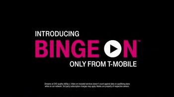 T-Mobile Binge On TV Spot, 'Burning Data'