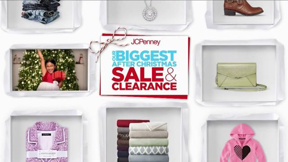 JCPenney After Christmas Sale & Clearance TV Commercial, 'Denim ...
