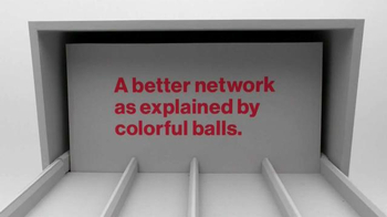 Verizon TV Spot, 'A Better Network as Explained by Colorful Balls' - Thumbnail 1