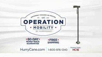 The HurryCane Operation Mobility Event TV Spot, \'Stable\'