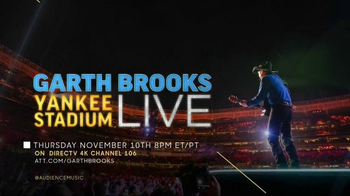Garth Brooks Yankee Stadium Live TV Spot, 'Once in a Lifetime' - 449 commercial airings