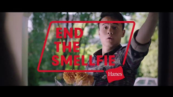 Hanes With Fresh IQ TV Spot, 'End the Smellfie'