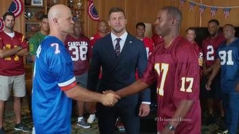 Nissan TV Spot, 'Heisman House: Fan Vote PSA' Ft. Tim Tebow, Danny Wuerffel