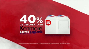 Sears Evento de Electrodomésticos de Veterans Day TV Spot, 'Más' [Spanish] - Thumbnail 5
