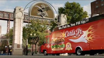 Carl's Jr. Beer Cheese Bacon Burger TV Spot, 'Brewers'