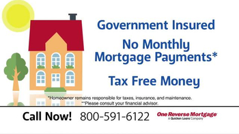 One Reverse Mortgage TV Spot, 'Government Insured'
