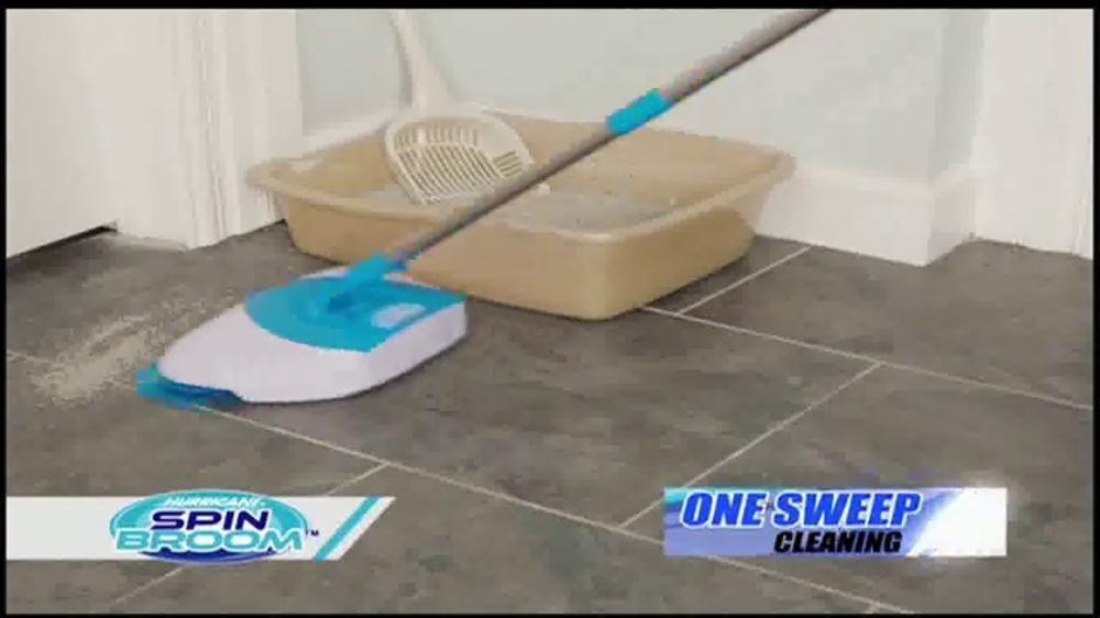 Hurricane Spin Broom Tv Commercial Triple Brush