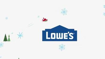 Lowe's Winter Savings TV Spot, 'Fresh Cut Christmas Trees'