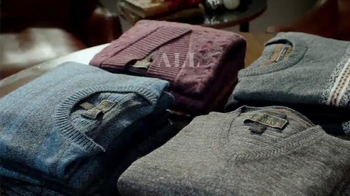 JoS. A. Bank Great Sweater Gift Sale TV Spot, 'Warm Up'