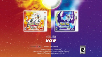 Pokemon Sun and Pokemon Moon TV Spot, 'Go Anywhere'
